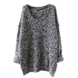 Cozy Age Women's Loose Fit Pullover Sweater