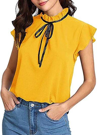 Camisetas Mujer SHOBDW Regalo del día de la Mujer Verano ...
