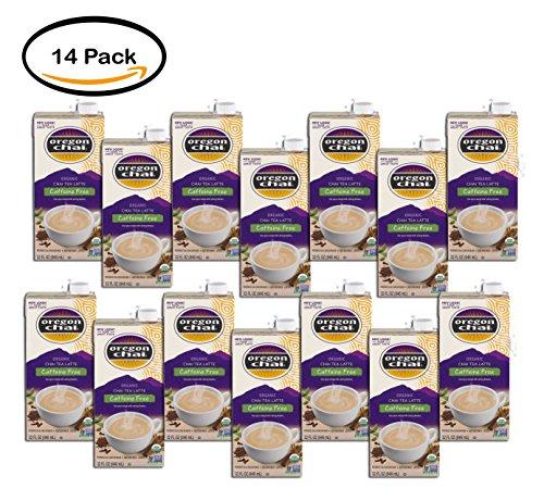PACK OF 14 - Oregon Chai Caffeine-Free Original Chai Tea Latte Concentrate, 32 fl oz by Oregon Chai