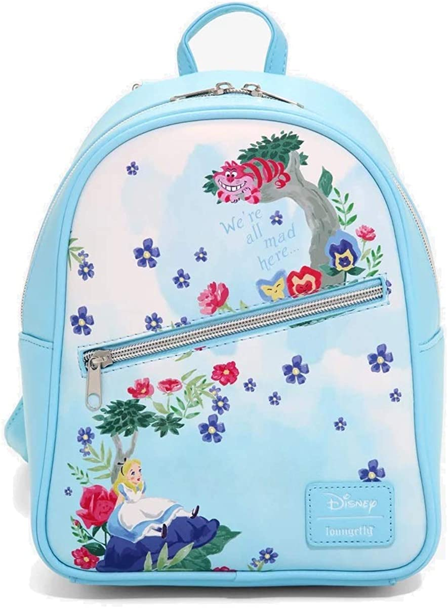 Loungefly Disney Alice In Wonderland Watercolor Mini Backpack