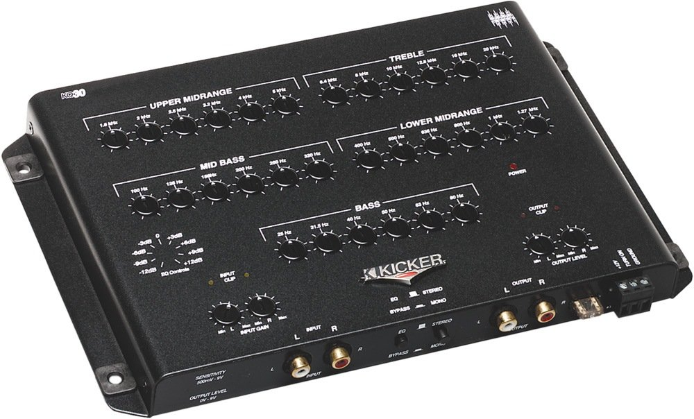 Kicker 03KQ30 30-Band Equalizer