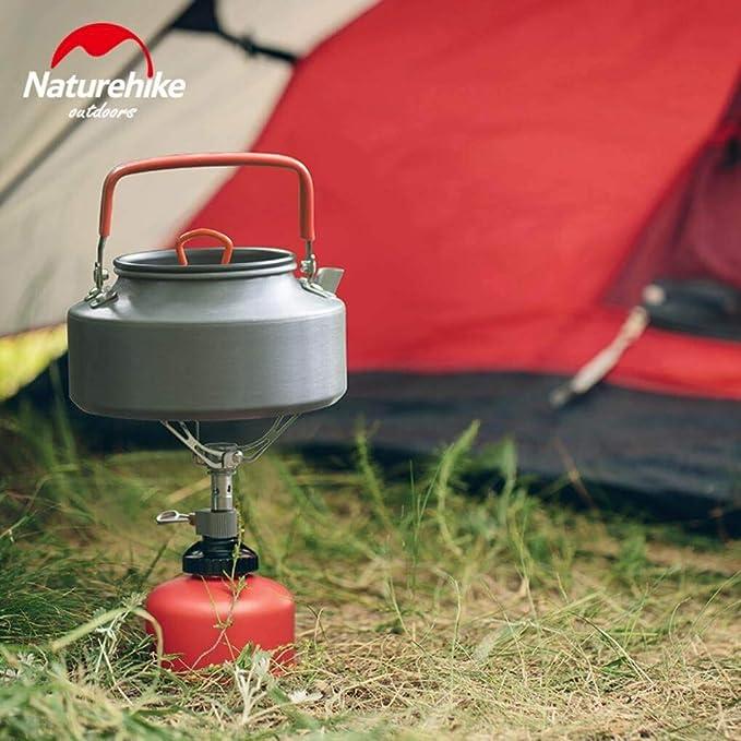 Yongse Naturehike Portable Camping Estufa de Gas de 40g ...