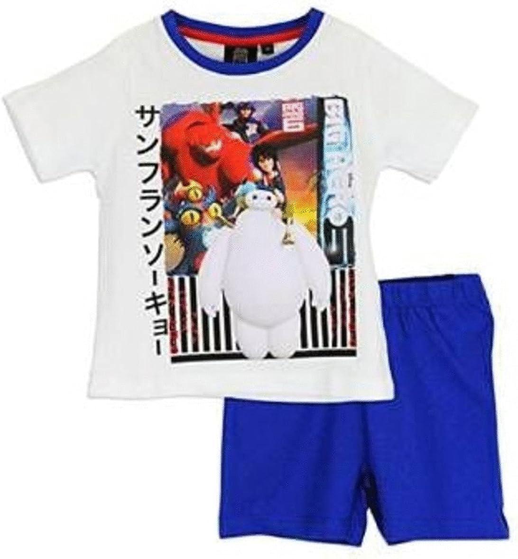 6 Years, White Pyjamas Kids Big Hero 6 Pajama Set