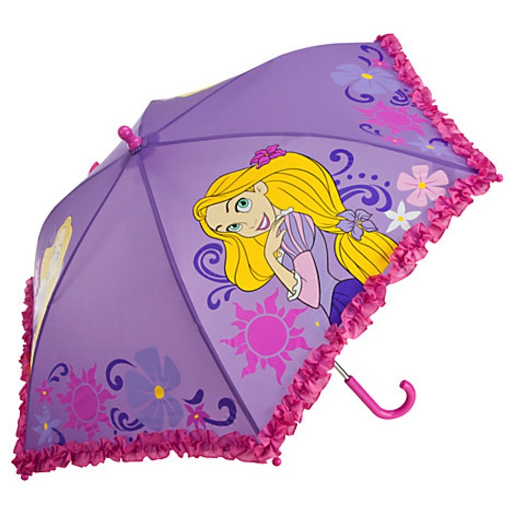 Disney Store Girls' Rapunzel Tangled Umbrella