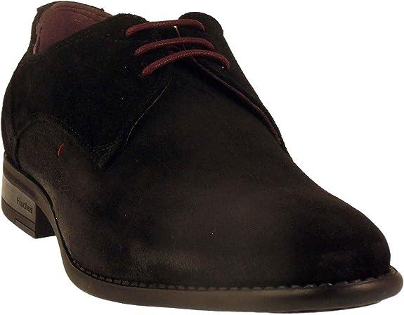 Zapatillas con cordones Fluchos-9204-Negro