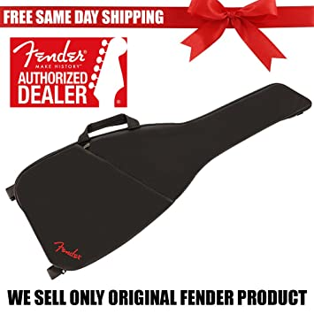 Fender F405 acolchado funda para guitarra eléctrica bolsa w/doble asas y correas de mochila 0991312406: Amazon.es: Instrumentos musicales