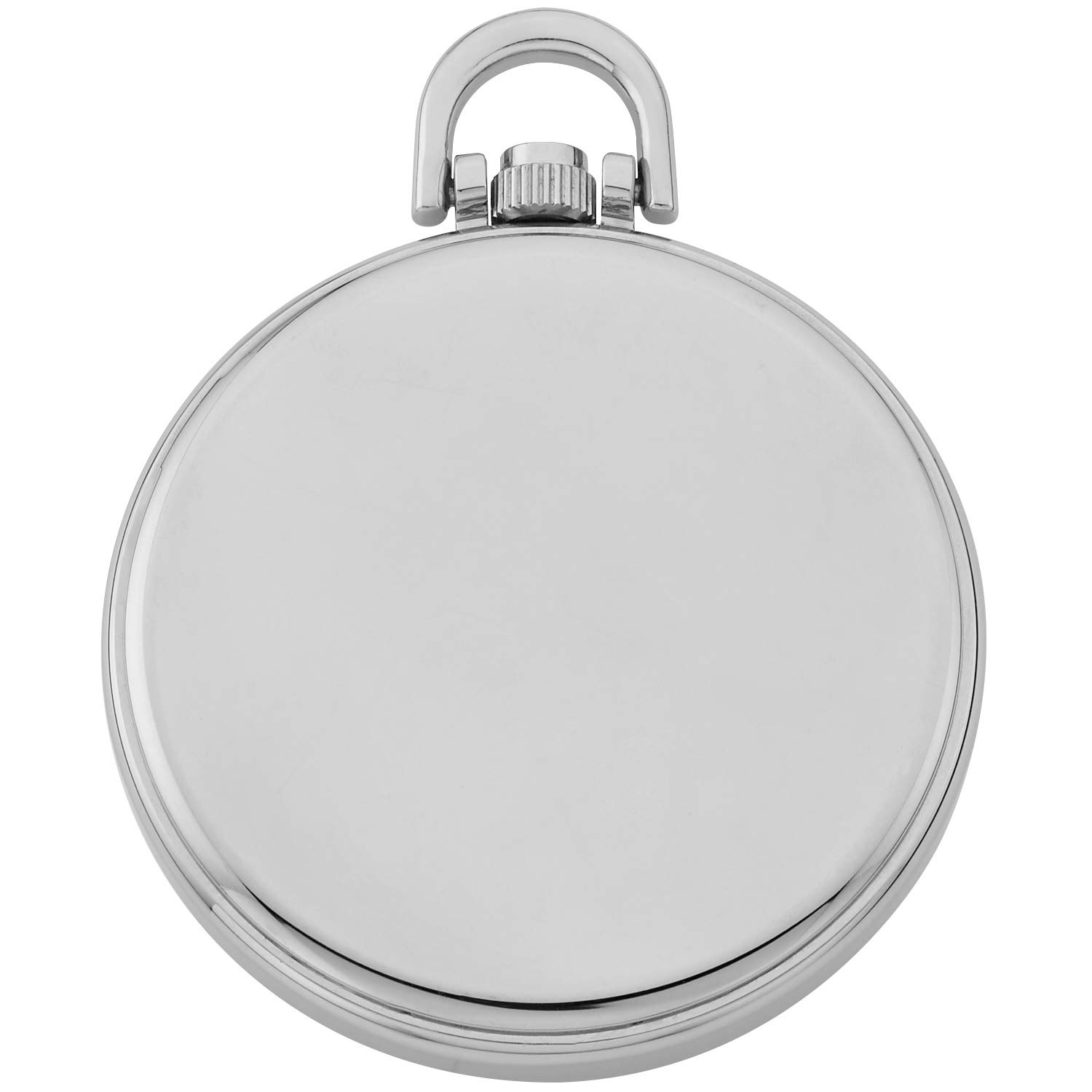 Gotham Men's Stainless Steel Analog Quartz Date Railroad Style Pocket Watch # GWC14107S by Gotham (Image #4)