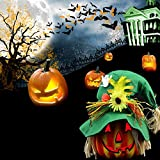 Halloween LED Pumpkin Night Light Home Party Decoration Prop
