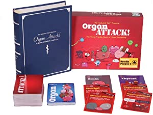 OrganATTACK! Tabletop Card Game by The Awkward Yeti