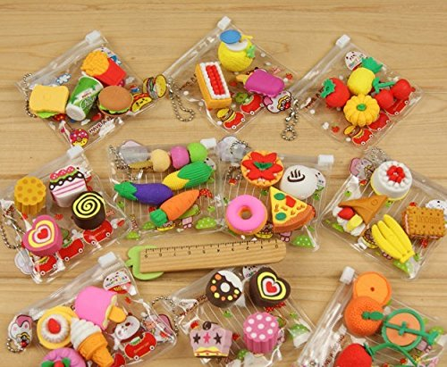 Trytry Cartoon Colorful Erasers Prizes product image