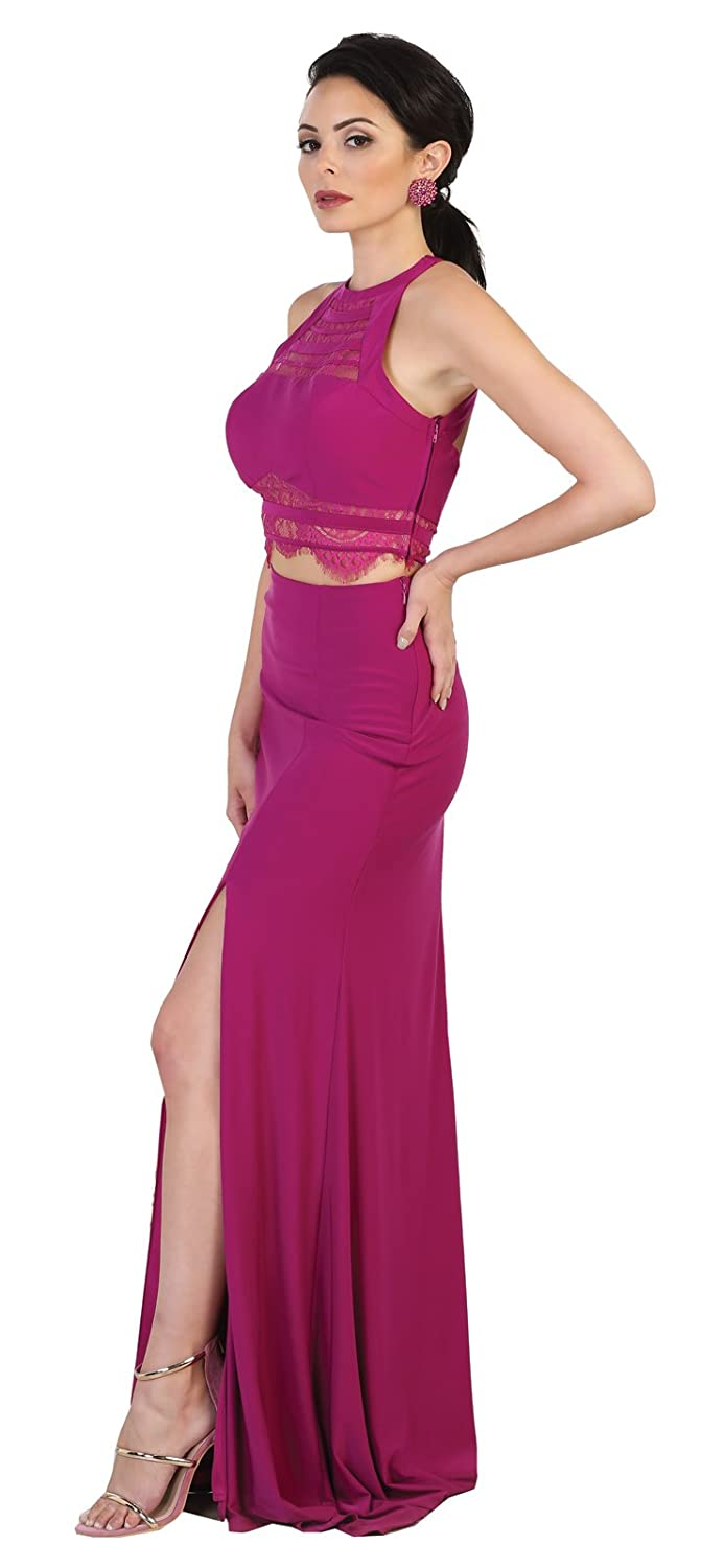 May Queen MQ1481 Sexy Evening Prom Fitted Gown at Amazon Womens Clothing store: