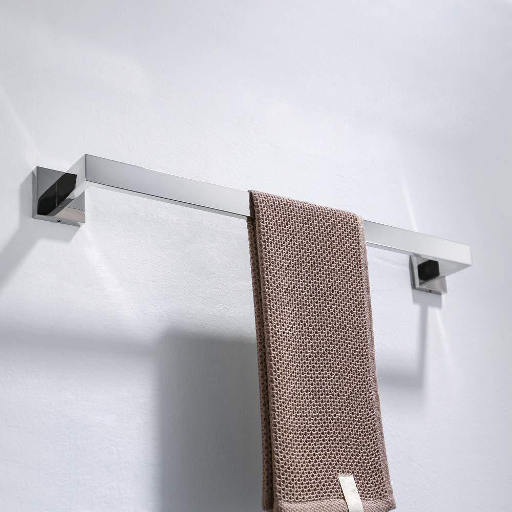 Turs Papel higi/énico Titular Ba/ño Rodillo Tejido Papel Titular SUS 304 acero inoxidable Montaje en pared Q7002P-P2 Acabado pulido 2 Pack