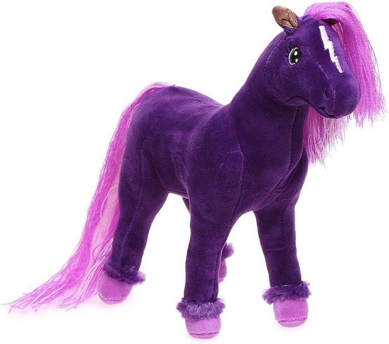 amazon com hallmark rainbow brite skydancer horse stuffed plush kid3470 toys games hallmark rainbow brite skydancer horse stuffed plush kid3470