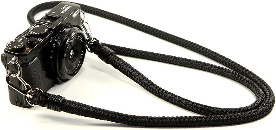 Black 48in Lance Camera Straps Quick Connect Non-adjust Cord Camera Neck Strap