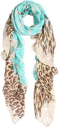 Premium Spot Leopard Multi Tone Animal Print Scarf -Diff Colors Avail