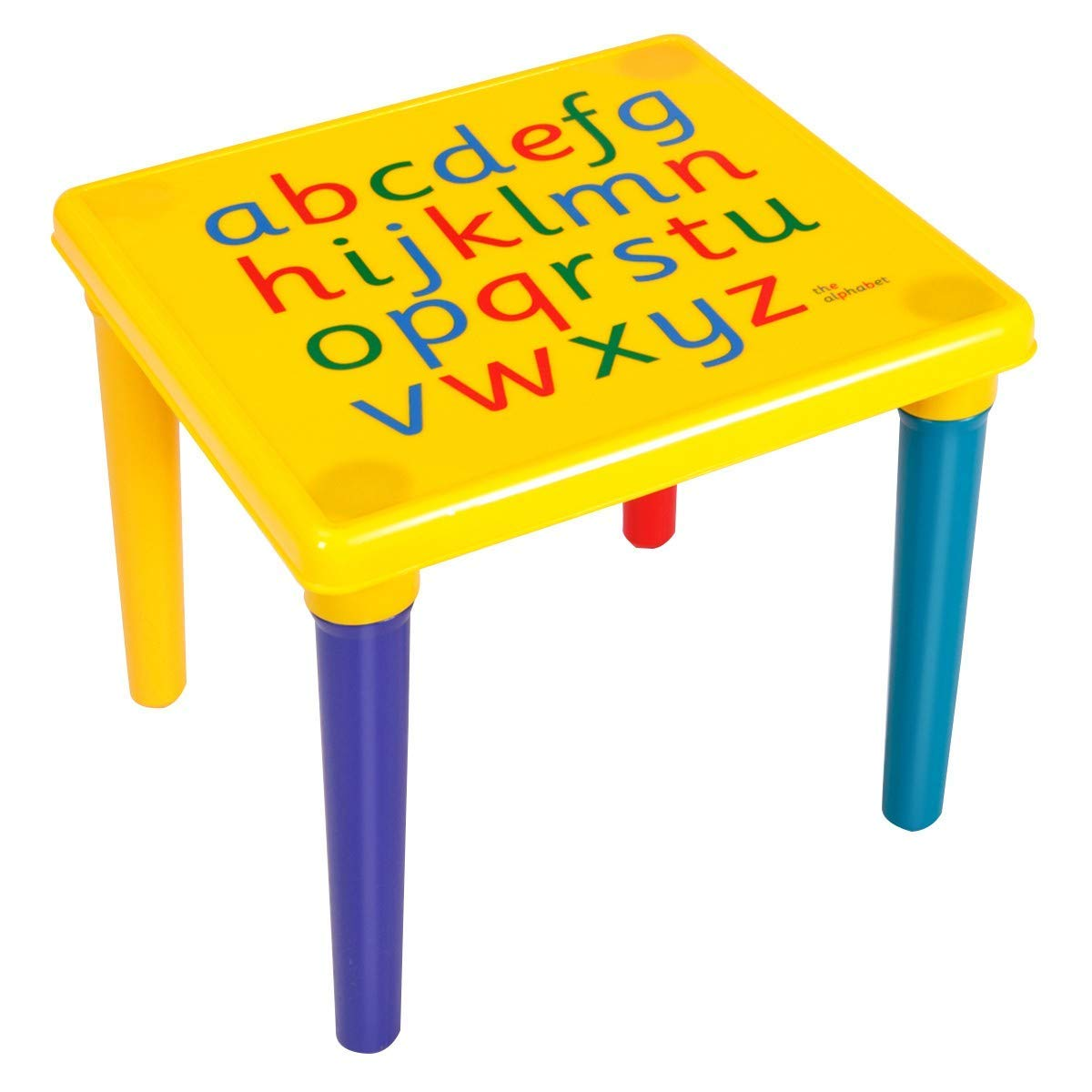 Children Plastic Table and Chair Set Classroom Playroom Nursery Play Activity Study Fun Kids Furniture