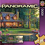 MasterPieces Lakeside Retreat 1000 Piece Puzzle Kim Norlien Panoramics