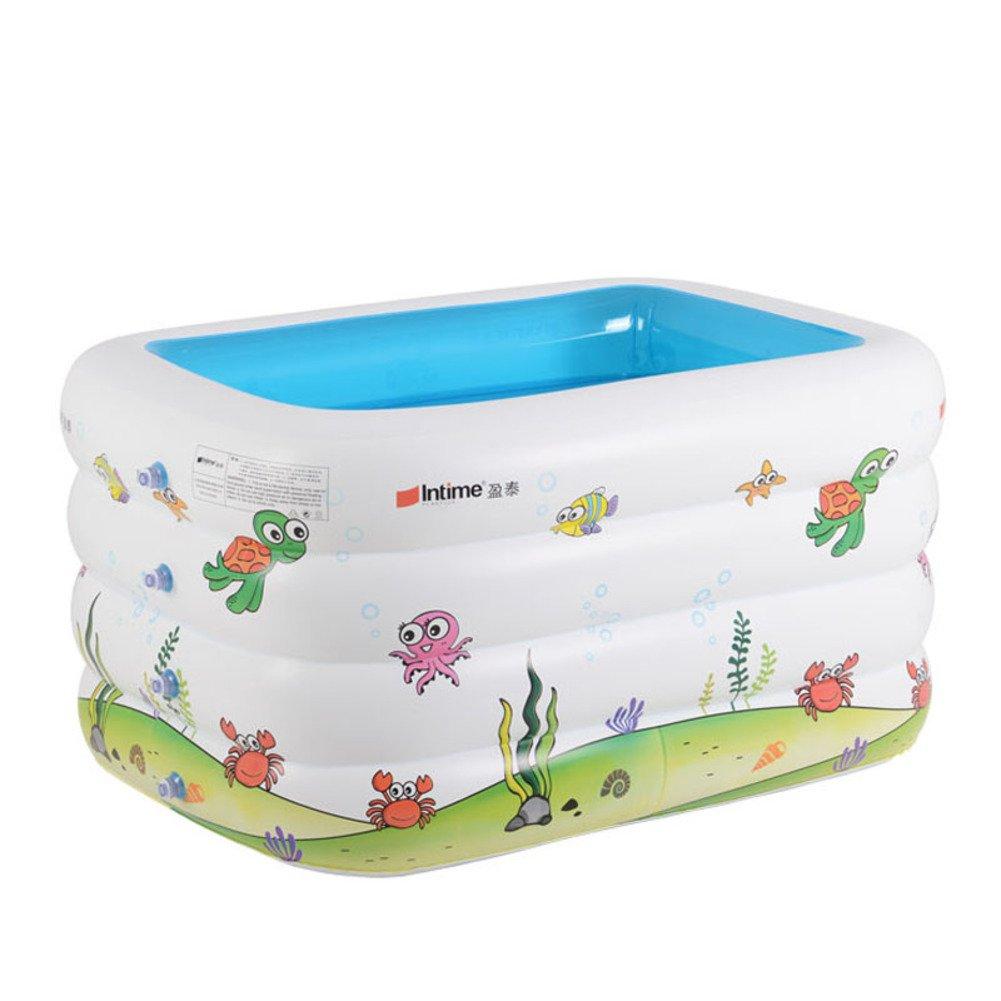 Infant Kinderbecken/Rechteckiges Becken Print/Super Pool/Freizeitbad/Poolbillard-C