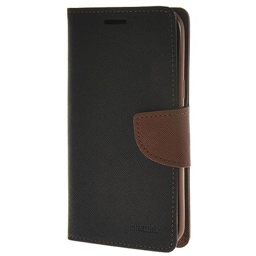 5 opinioni per HUANGTAOLI Custodia in Pelle Portafoglio Flip Case Cover per Samsung Galaxy