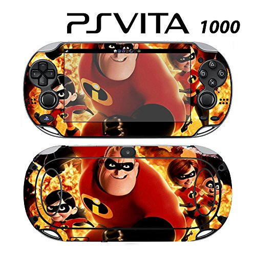 Skin Decal Cover Sticker for Sony PlayStation PS Vita (PCH-1000) - The Incredibles -  Decals Plus, PV1-DI28
