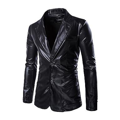Moollyfox Chaqueta de Traje de Lentejuelas Americanas Casual Slim Fit Blazer para Hombre: Amazon.es: Ropa y accesorios