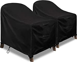 Patio Adirondack Chair Covers, 2 Pack Lounge Deep Seat Cover 32