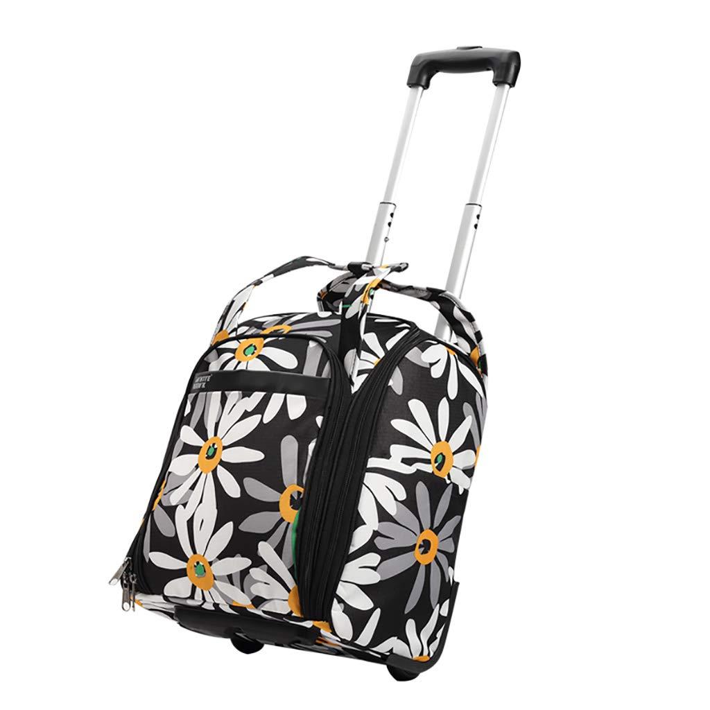 スーツケース トロリーケース2輪出張旅行外出トロリーバッグ大容量ライトトラベルバッグドラッグバッグハンドバッグトランク旅客ボックス (色 : A1, サイズ さいず : 31*21*37CM) B07KY7BFJJ A1 31*21*37CM