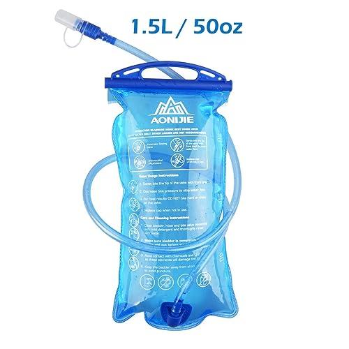 RANIACO Bolsa de Agua Deportiva para Usos en Espacios Exteriores Bolsas de agua Accesorios para mochilas Bolsa de Agua Portátil de 2 Litro