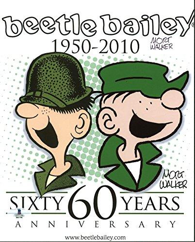 Mort Walker Beetle Bailey Comic Strip Creator Signed 8X10 Photo BAS ()