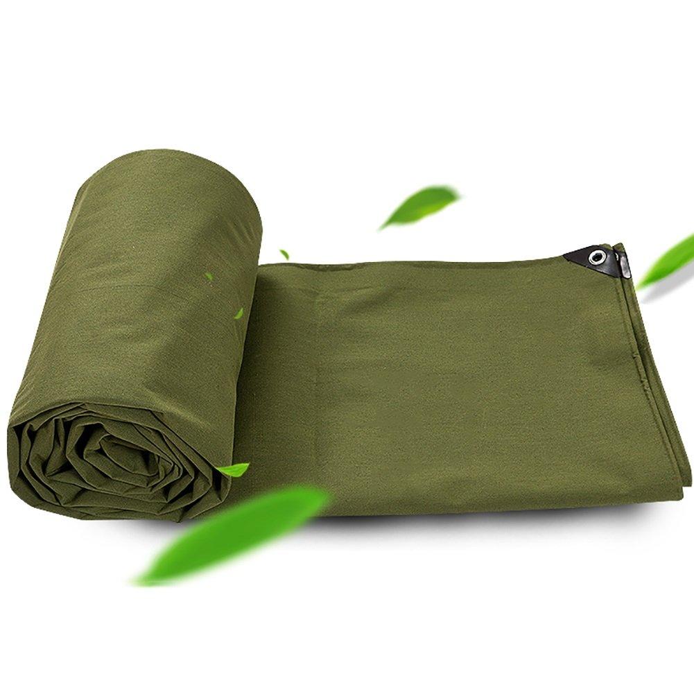 TDLX Große Heavy Duty Picknick-Matte Plane Picknick-Matte Duty Reversible Wasserdichte Zelt Splice Markise Sun Shade Tarp Boden Blatt Covers Visier Thickn Leinwand regensicher Tuch-Grün 650G   M² (größe   5  7m) a322f7