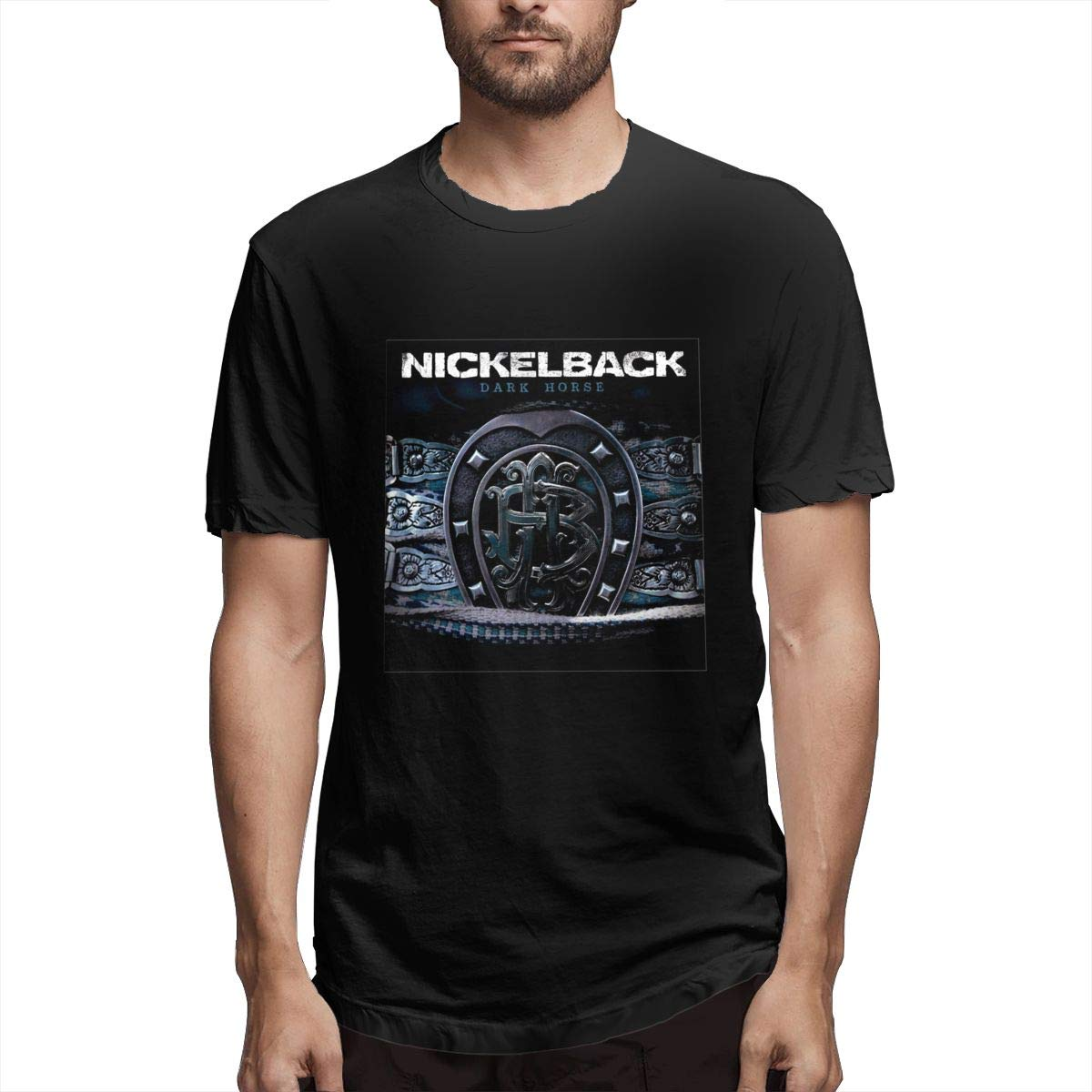 Momonage Comfortable Nickelback Dark Shirt