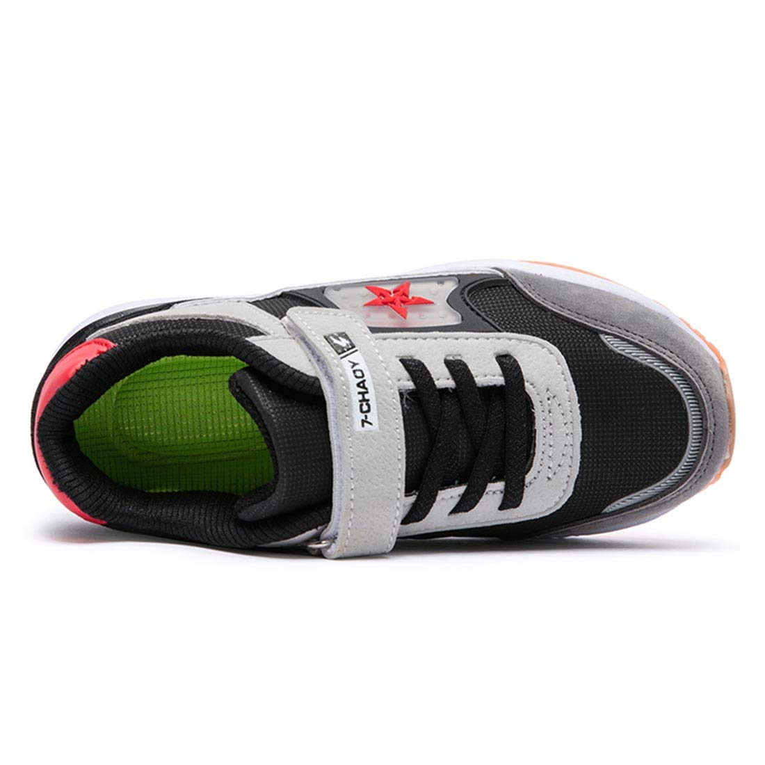 YIBLBOX Boys Fashion Sneakers Kids Girls Low-Top Trainers Sports Outdoor Inspired Pumps Shoes