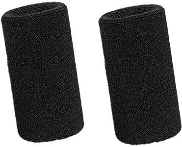 Lvcky - Muñequeras deportivas elásticas de algodón para deportes, 6 pulgadas, 2 unidades: Amazon.es: Belleza