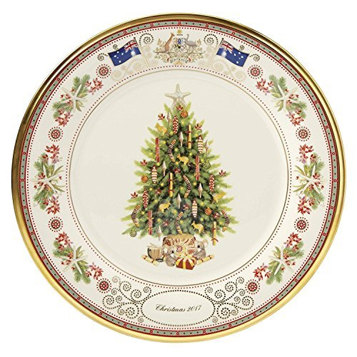 Lenox 2017 Trees Around The World Plate Australia Annual Christmas MADE IN USA Collectors 27th