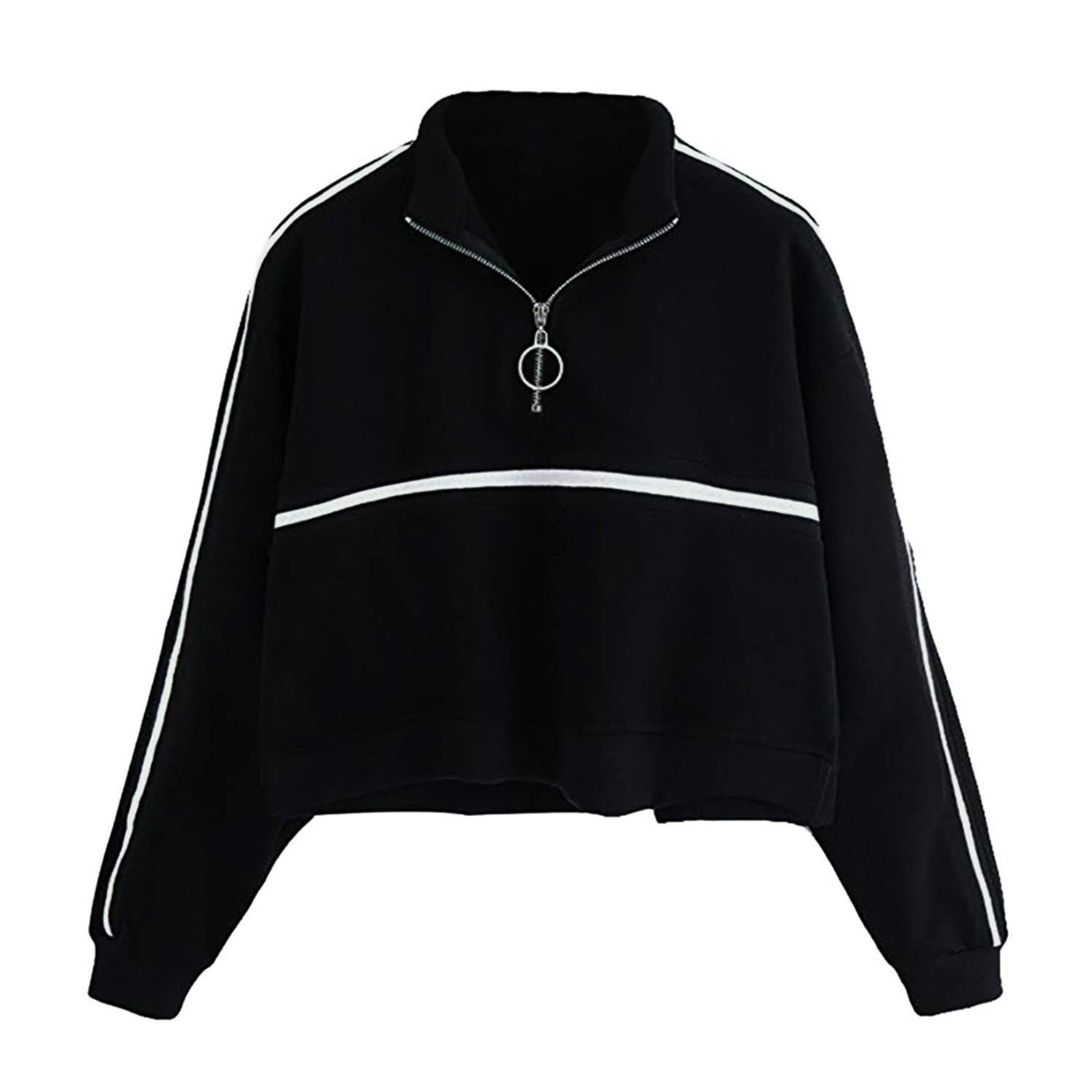 Gorgse Women Hoodies Womens Long Sleeve Sweatshirt Jumper Pullover Ladies at Amazon Womens Clothing store: