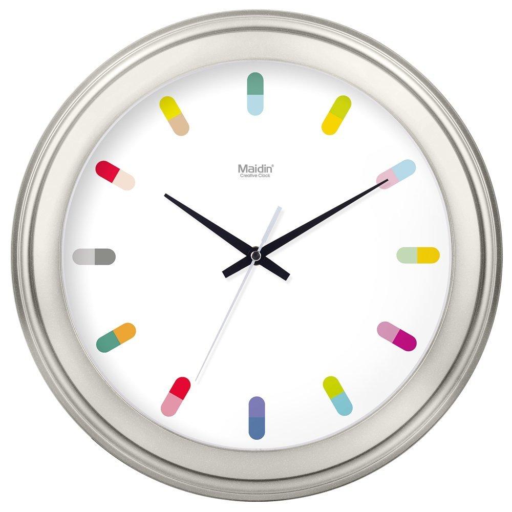Pendules Murales Cuisine Maison Horloge Murale Silencieuse