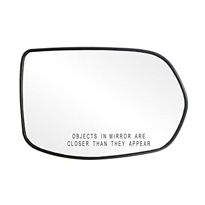 Fit System 80217 Honda CR-V Right Side Power Replacement Mirror Glass with Backing Plate: Automotive