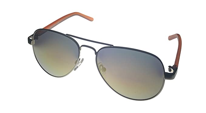 c5c4d15a1 Kenneth Cole Reaction Mens Gold Metal Aviator Sunglass KC1302 32U at ...