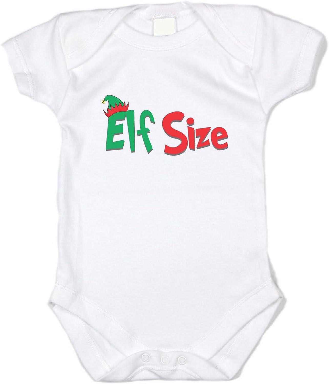 Santa/'s Cutest Elf Christmas Onesie Baby Onesie