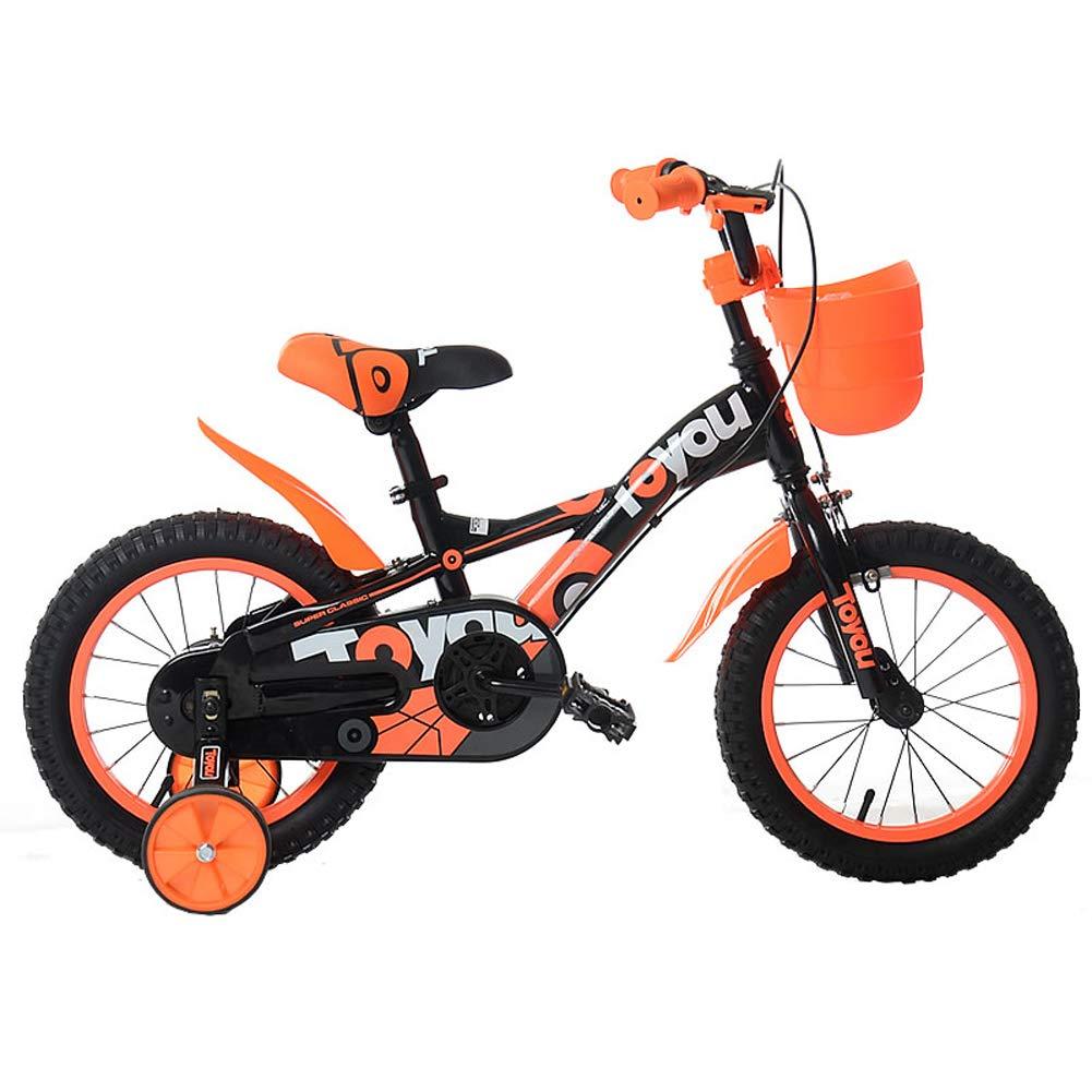 2018セール CHS@ (色 子供用自転車2-5歳ユニセックス子供用自転車12インチトレーニングホイール付きベビーキャリッジトライク Orange CHS@ 子ども用自転車 (色 : Orange) Orange B07Q1P6YMK, IMPORTBRAND JP:02e7c283 --- senas.4x4.lt