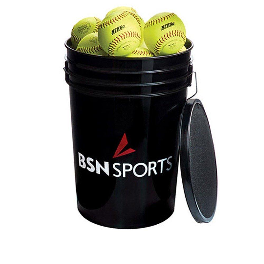 BSN Sports Softballs in aバケット、11 – 2で数十 B018E2SD4K