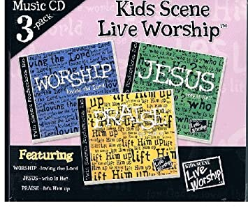 Twin Sisters Productions - Kids Scene Live Worship, 3 CD Set