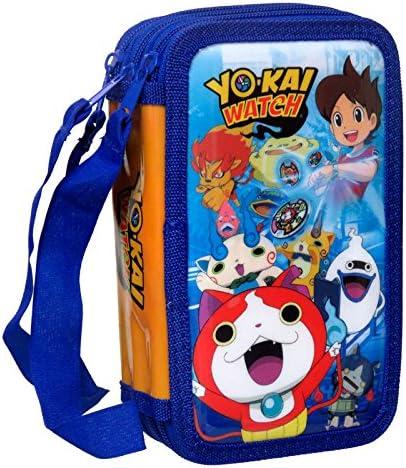Yo-kai Watch- Plumier 3 Pisos (CYP Imports EP-103-YK): Amazon.es: Juguetes y juegos