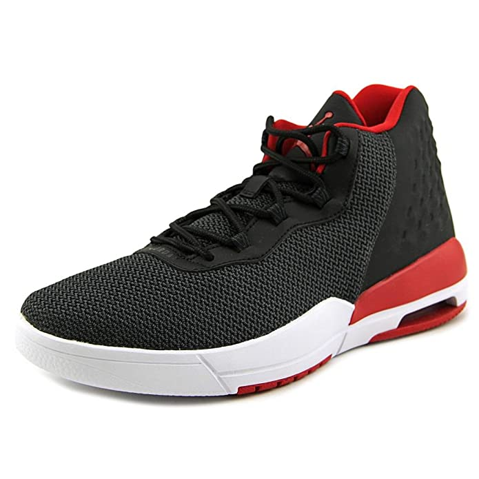 best website 44fcc 78e25 Nike - Jordan Academy BG - 844520001 - Couleur  Blanc-Noir-Rouge -  Pointure  37.5  Amazon.fr  Chaussures et Sacs
