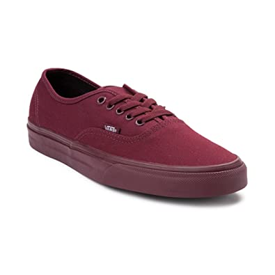 vans authentic burgundy