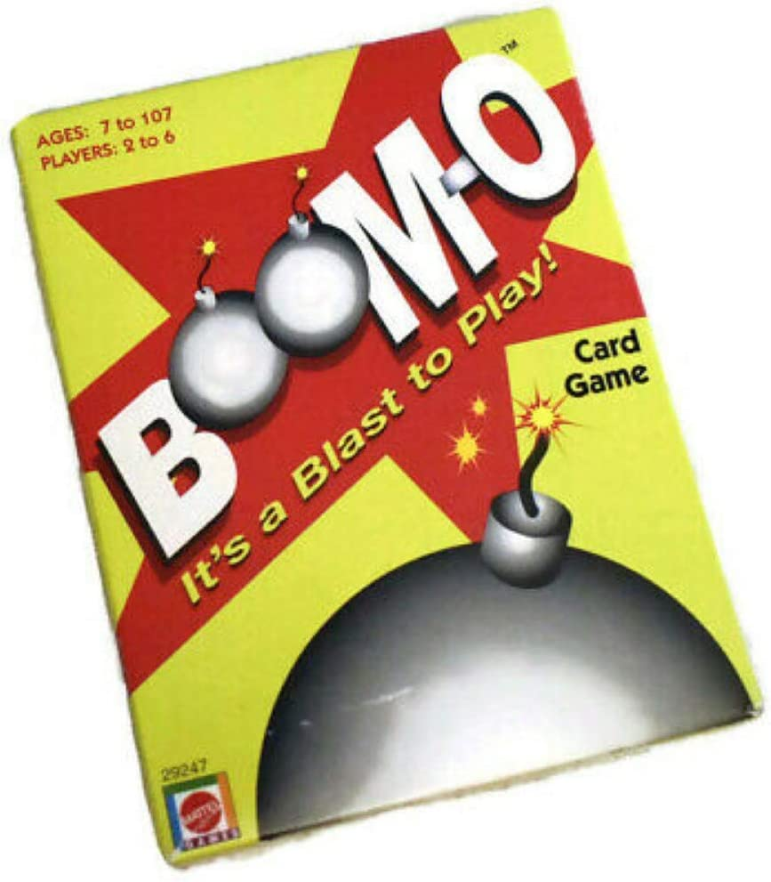Boom-o Card Game by Mattel: Amazon.es: Juguetes y juegos
