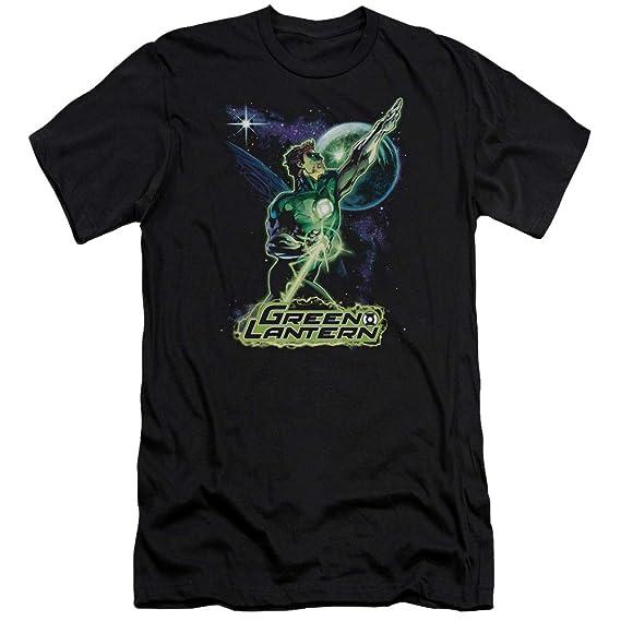 Jla Hal Galaxy Adult Work Shirt