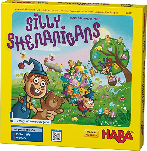 HABA Silly Shenanigans a Crazy Tactile Memory Game (Made in Germany) Haba Memory Game