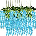 Pauwer-24-Pack-36-FeetPiece-Artificial-Wisteria-Vine-Ratta-Fake-Wisteria-Hanging-Garland-Silk-Long-Hanging-Bush-Flowers-String-Home-Party-Wedding-Decor