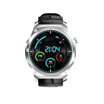 Wokee Reloj Inteligente de Salud y Fitness con frecuencia cardíaca, Bluetooth 3G Android 5,